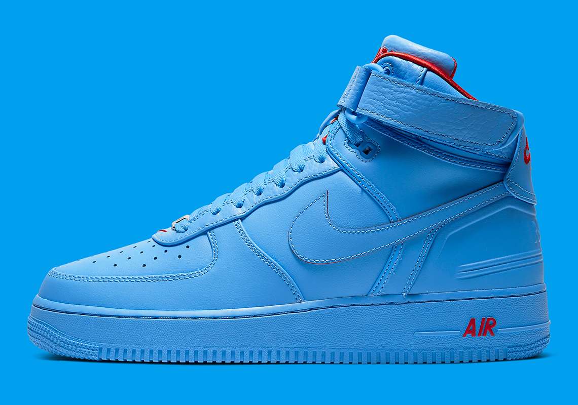 Just Don Nike Air Force 1 High Blue Cw3812 400 Sneakernews Com