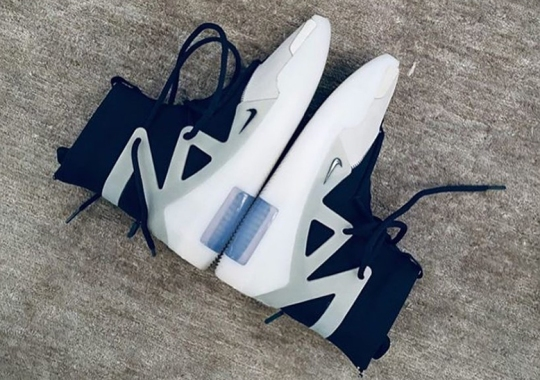 "Closer Look At The Nike Air Fear Of God 1 ""The Question"""