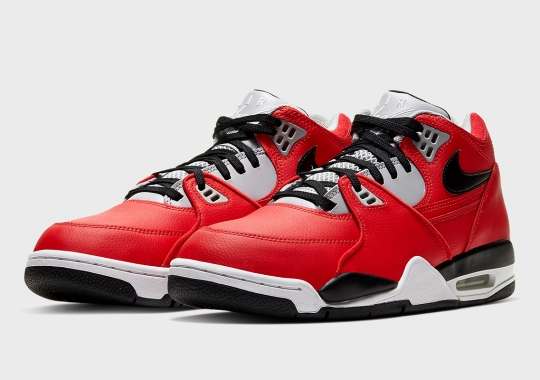 """The Nike Air Flight '89 Gets Its Own """"Red Cement"""" Makeover"""