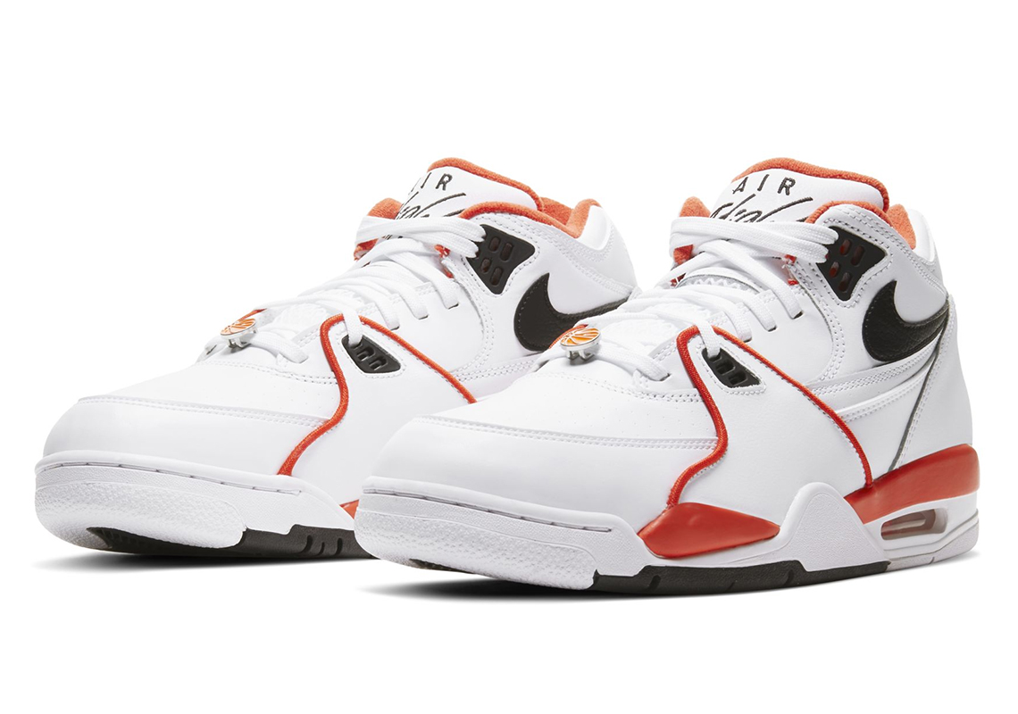 Nike Air Flight 89 Rucker Park White Orange | SneakerNews.com