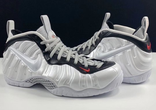 The Nike Air Foamposite Pro Gets A New White/Red/Black Colorway For March