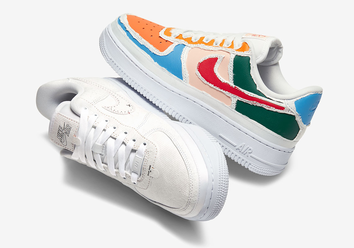 Nike Air Force 1 Outside The Lines GS CV2421 100