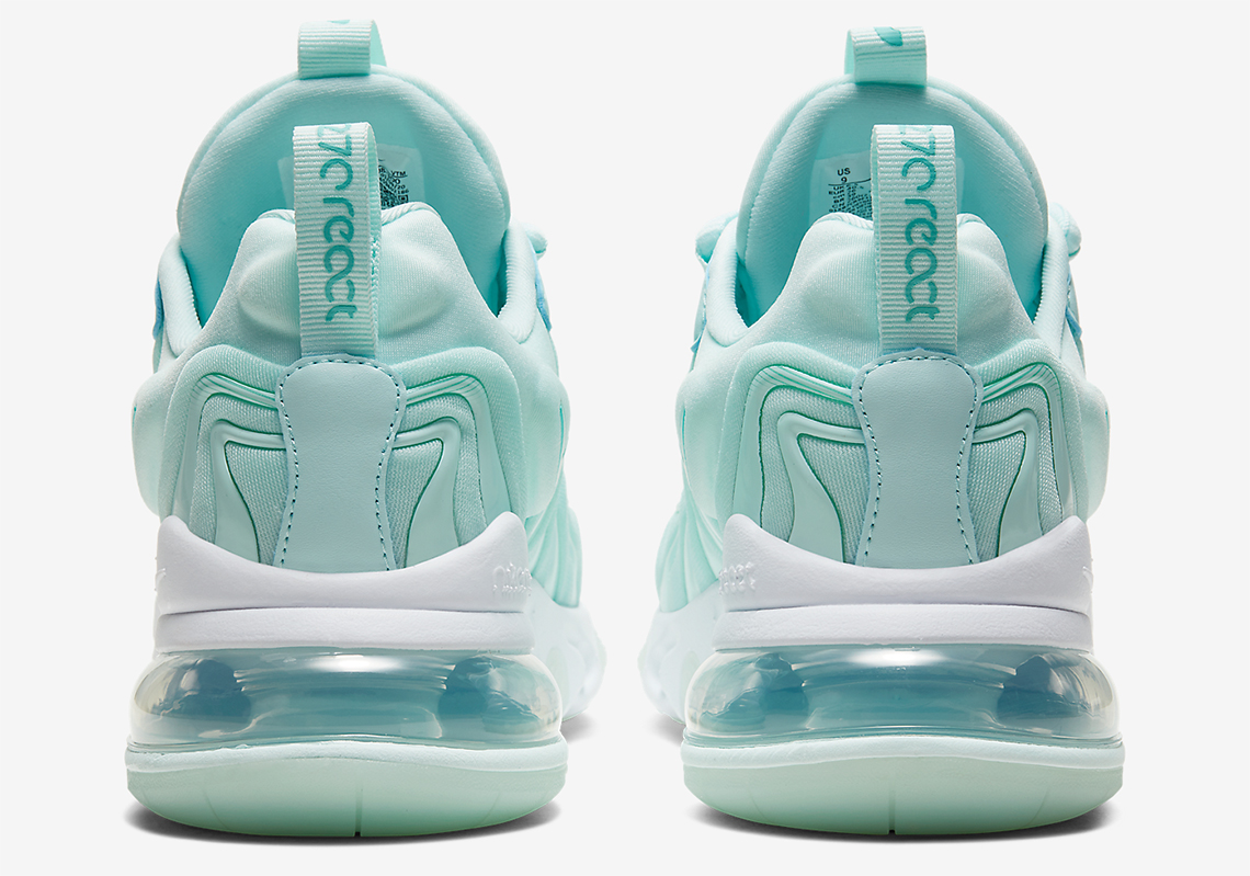 "Nike Air Max 270 React ENG ""Glacial Blue"" Coming Soon: Official Photos"