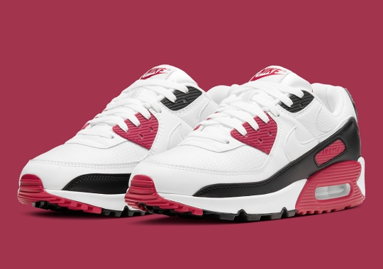 "Nike Adds ""New Maroon"" To The Air Max 90 Library"