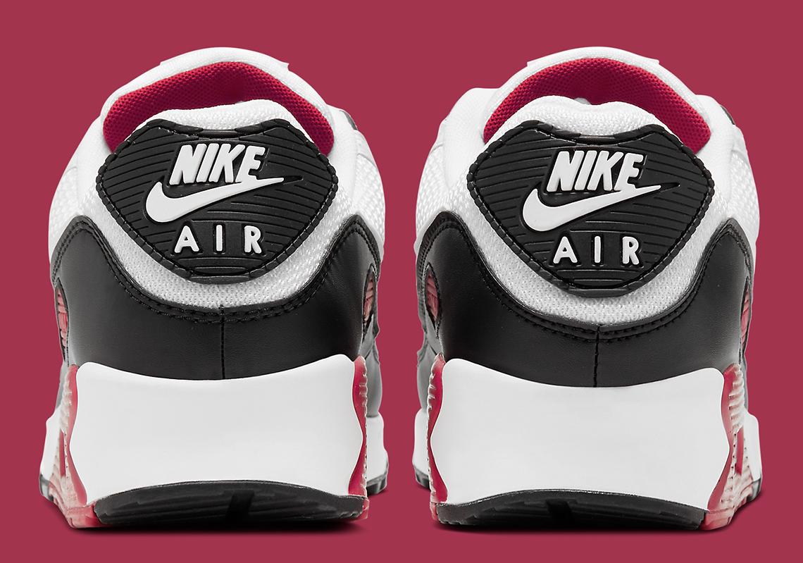 Nike Air Max 90 Maroon White CT4352-104   SneakerNews.com