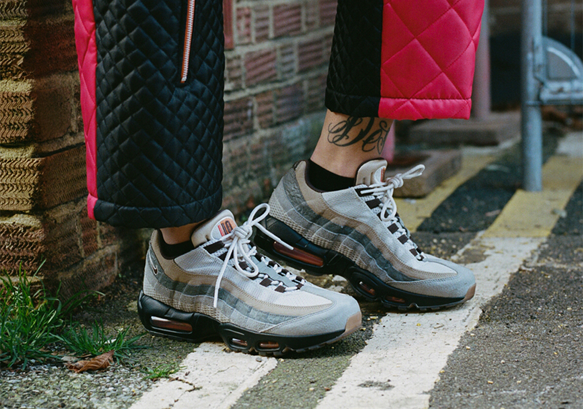 """Nike Air Max 95 """"110"""" Nods To The Sneaker's Deep Roots In The London Sneaker Scene - SneakerNews.com"""