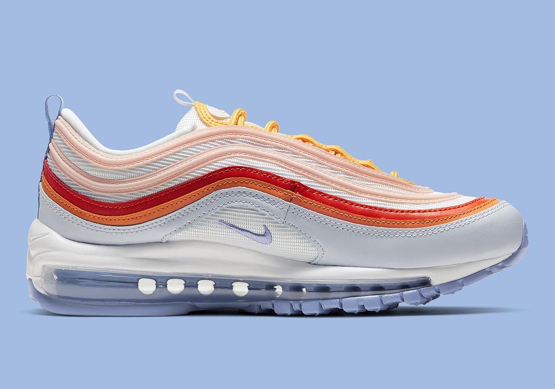 Nike Air Max 97 Violet Red Orange Cw5588 001 Sneakernews Com