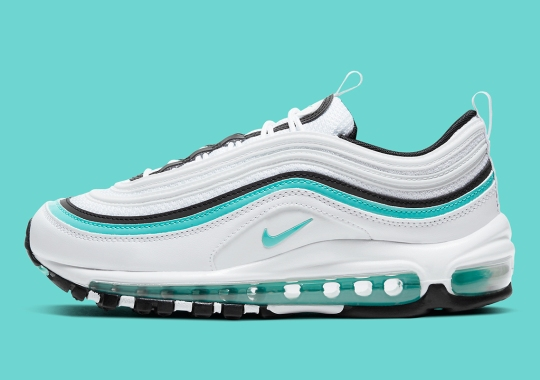 "The Nike Air Max 97 Gets A ""Tiffany Diamond"" Makeover"