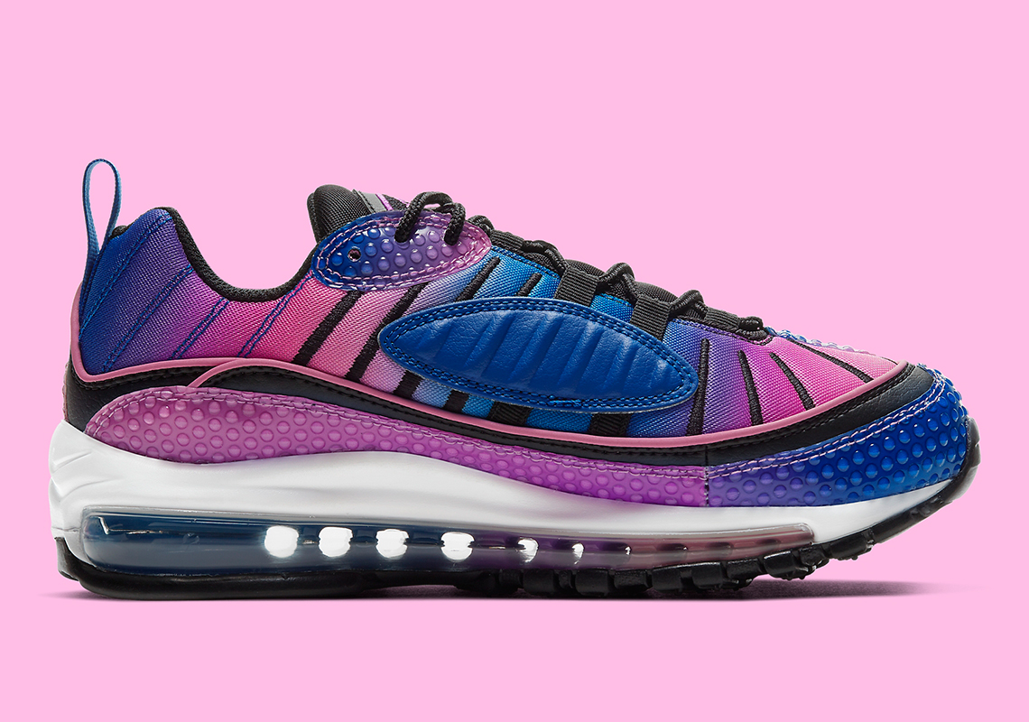 Nike Air Max 98 Bubble Blue Purple Pink CI7379 400