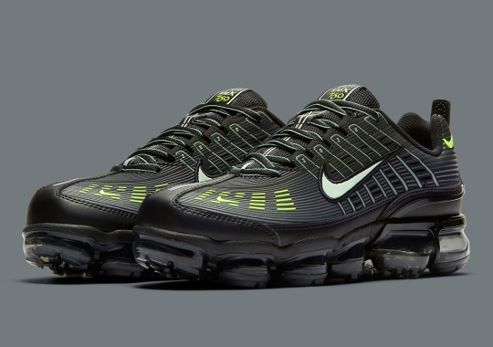 The Nike Air Vapormax 360 Hits The Sporty Angle With Black And Volt