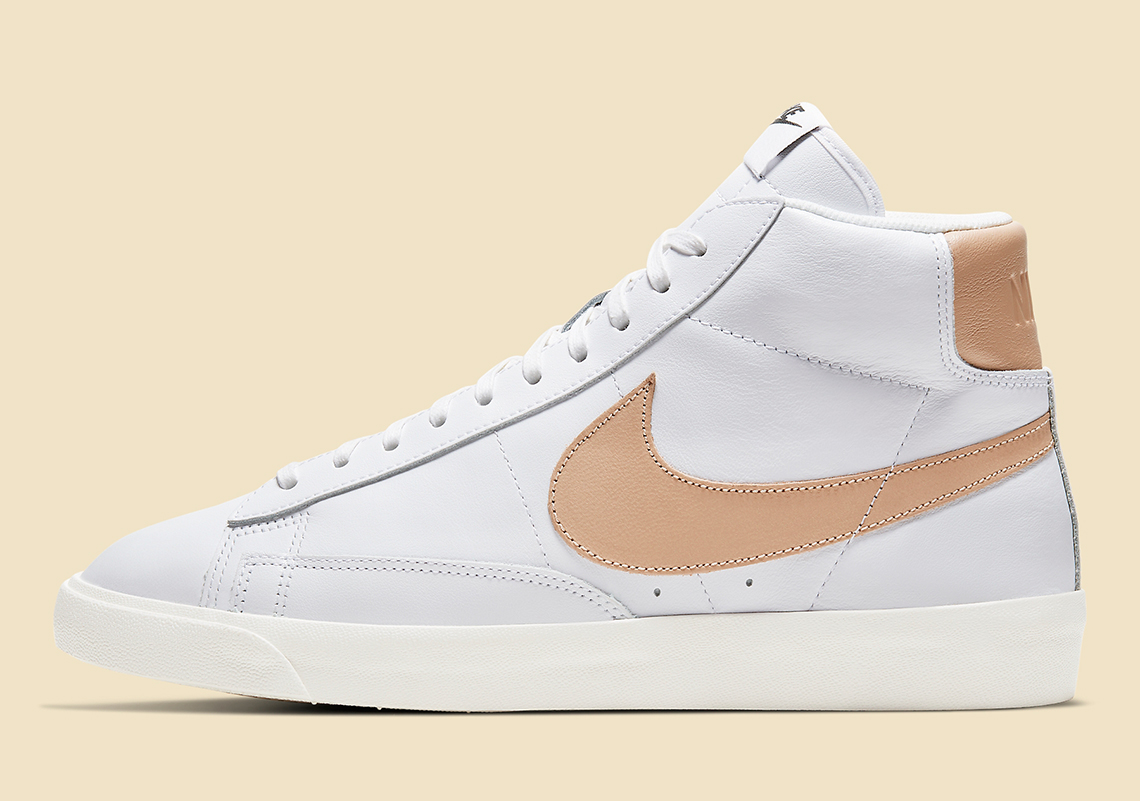 Nike Blazer Mid Light Patina CU6679-100 | SneakerNews.com