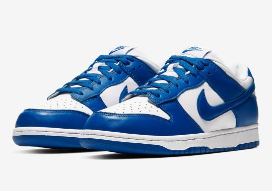 "The Nike Dunk Low ""Kentucky"" Is Releasing In March"