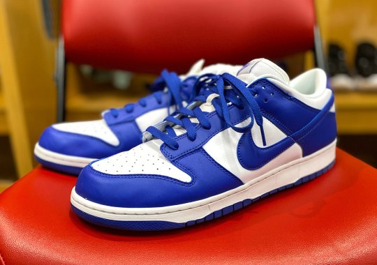 "Nike Dunk Low ""Kentucky"" Debuts On Devin Booker At All-Star Weekend"