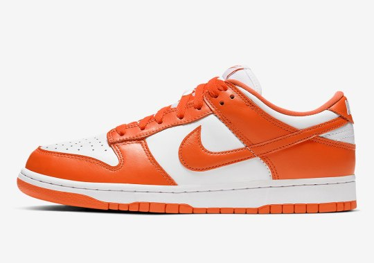 "Official Images Of The Nike Dunk Low ""Syracuse"""