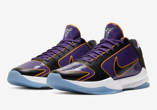 "Official Images Of The Nike Kobe 5 Protro ""Lakers"""