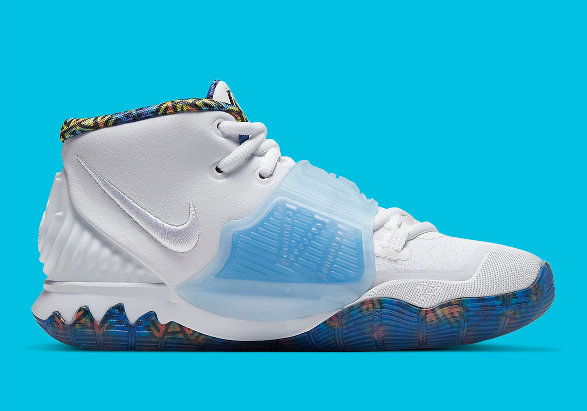 Nike Kyrie 6 White Sapphire Laser