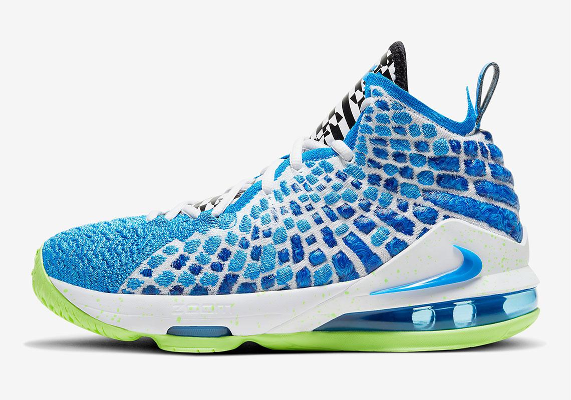 Nike LeBron 17 Kids Photo Blue Ghost