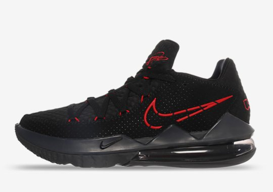 """Closer Look At The Upcoming Nike LeBron 17 Low """"Bred"""""""