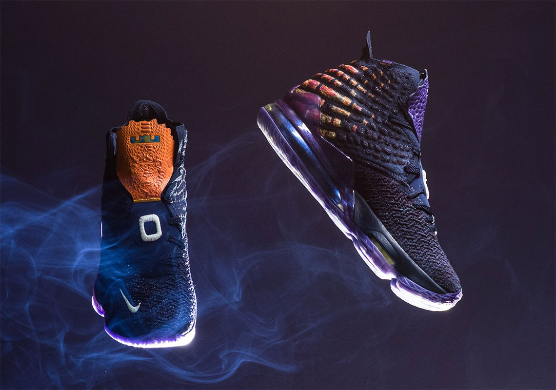 Nike LeBron 17 Monstars Space Jam Shoes