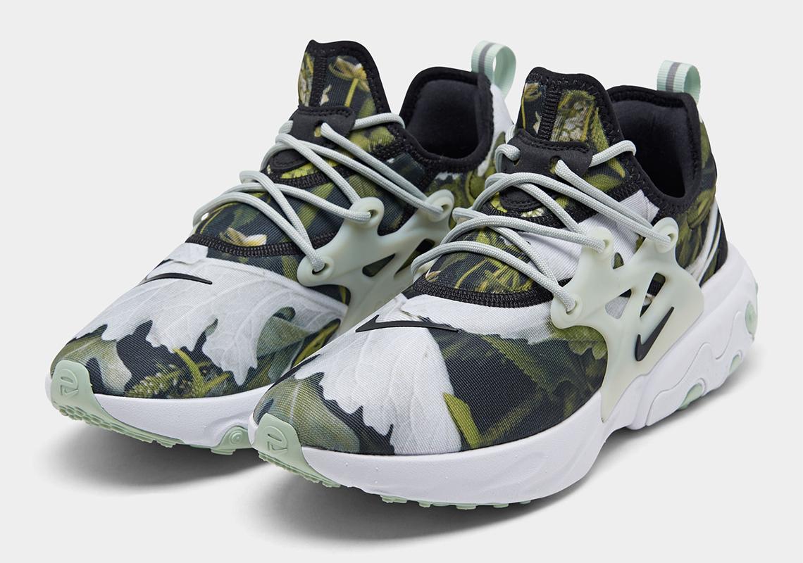 Nike React Presto Green Leaves CN7664