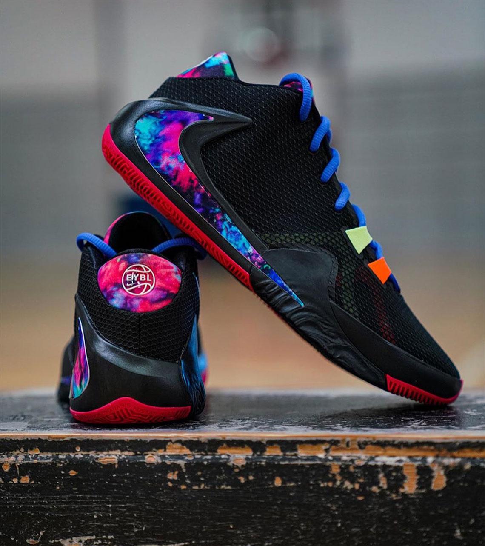 Nike Girls EYBL Zoom Freak 1 PE