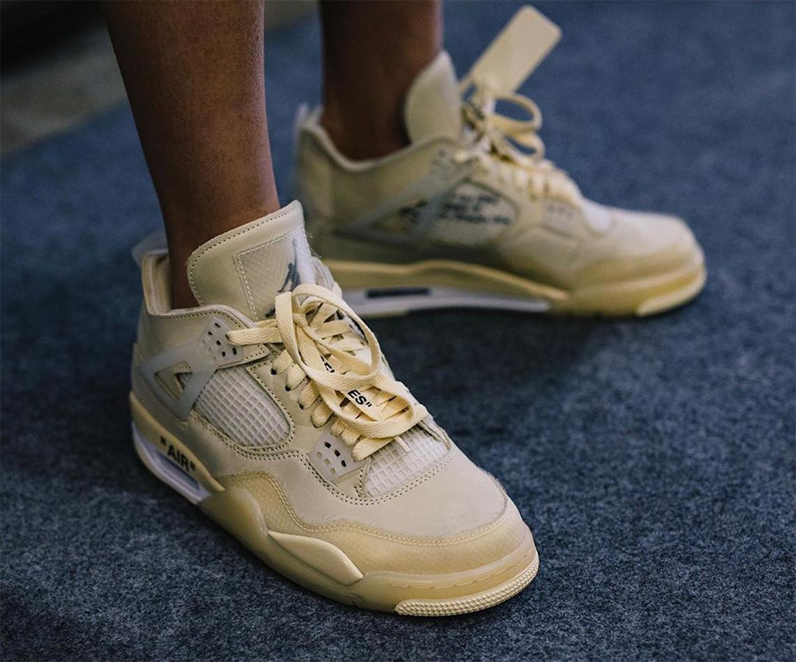 Confusión Deformación Ojalá  Off White Jordan 4 - Release Info + Photos | SneakerNews.com