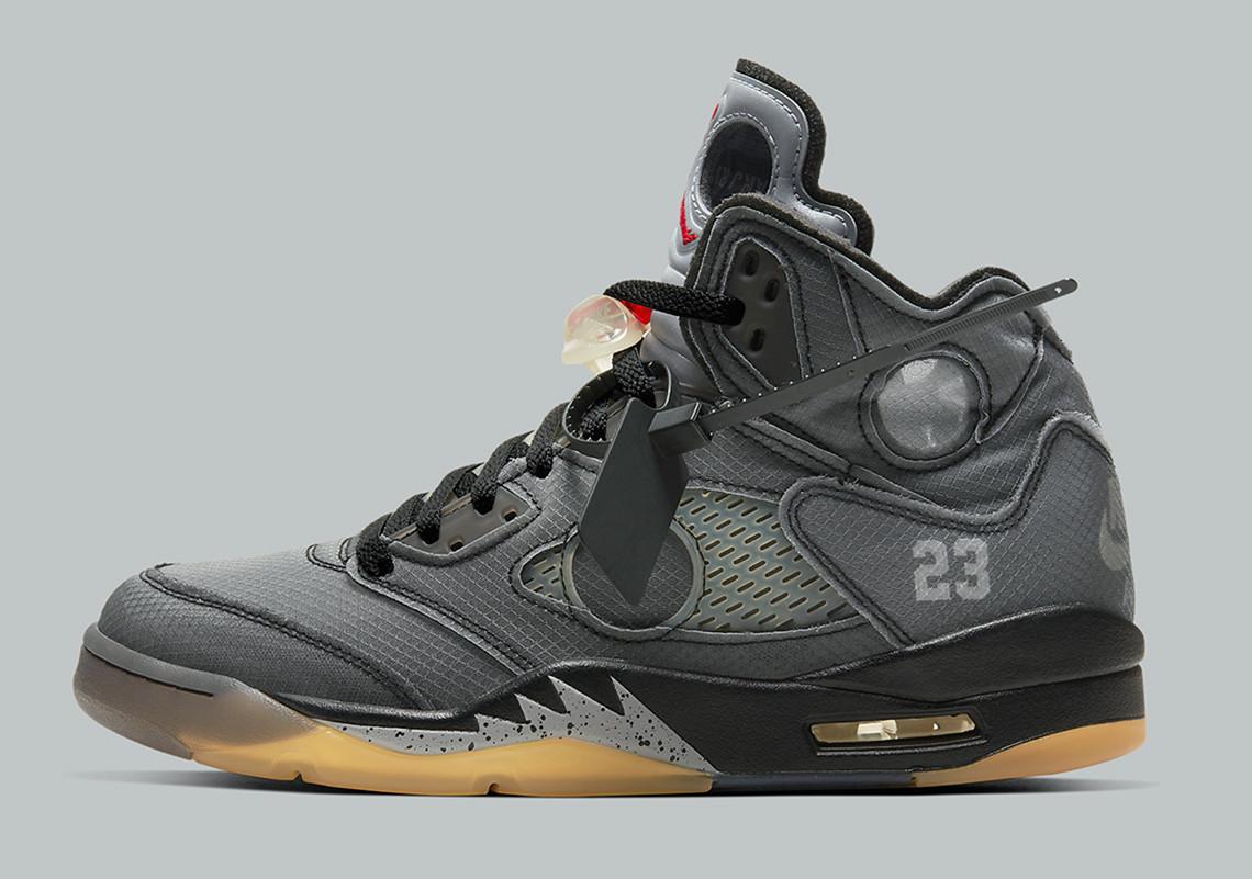 Off White Jordan 5 Official Release Guide Info Sneakernews Com
