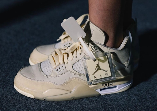 Off-White x Air Jordan 4 Rumored For Late Summer 2020 Release
