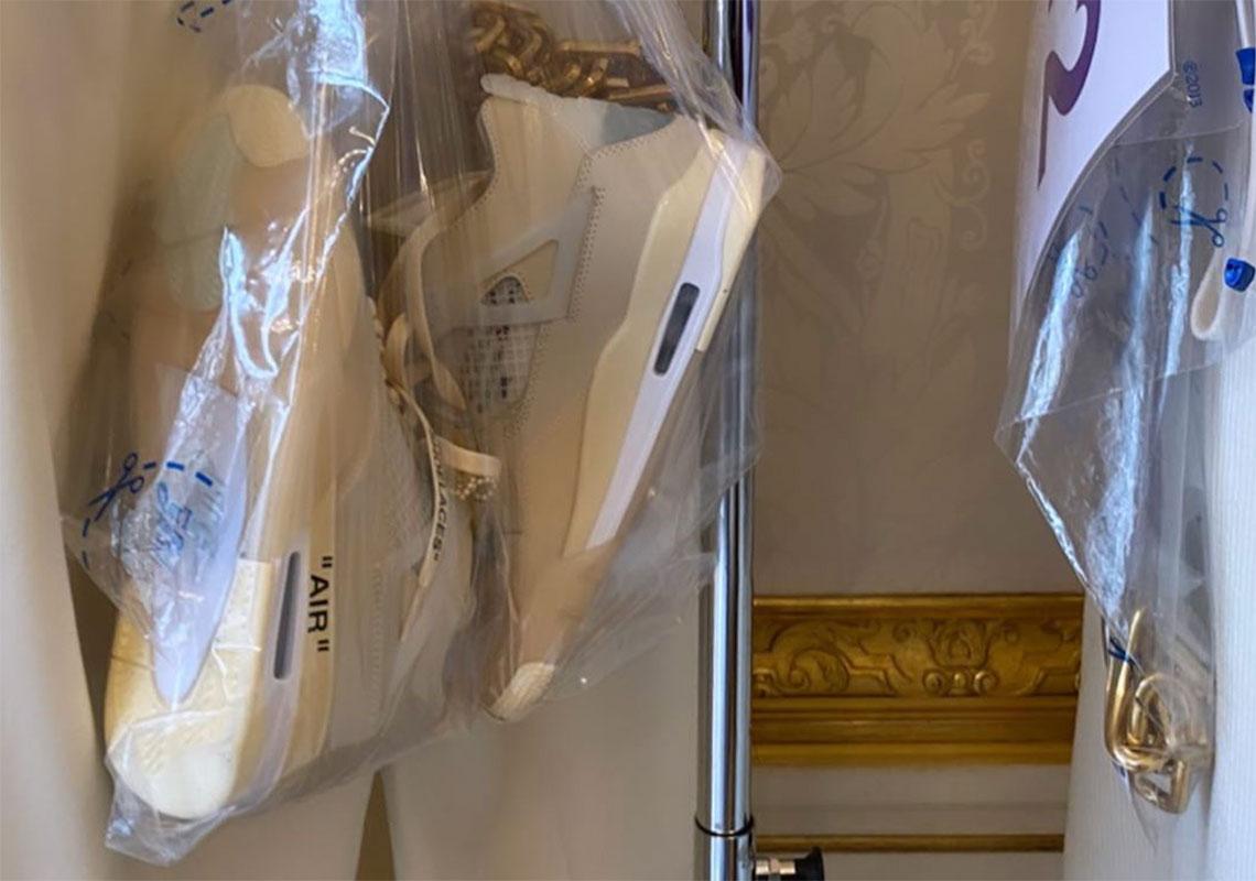 Off White Jordan 4 - Release Info + Photos | SneakerNews.com