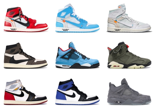 Fragment AJ1, Off-White x AJ1, And More Offered Up At One Block Down's Air Jordan Archive 2009-2019 Event