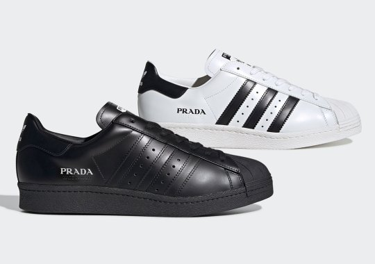 Prada x adidas Superstar Revealed In Two More Colors For March 2020