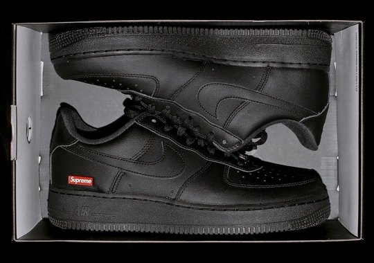 Supreme Reveals An Overly Simple Nike Air Force 1 Low Collaboration