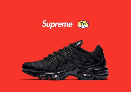 Supreme Has A Nike Air Max Plus In The Works