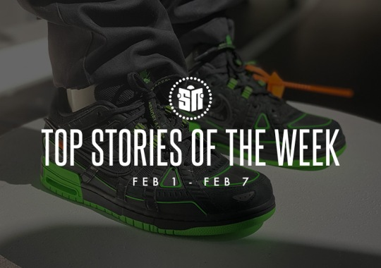 Seventeen Can't Miss Sneaker News Headlines from February 1st to February 7th
