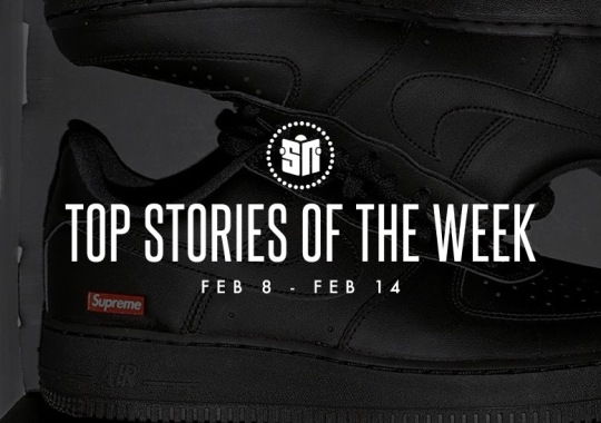 Thirteen Can't Miss Sneaker News Headlines from February 8th to February 14th