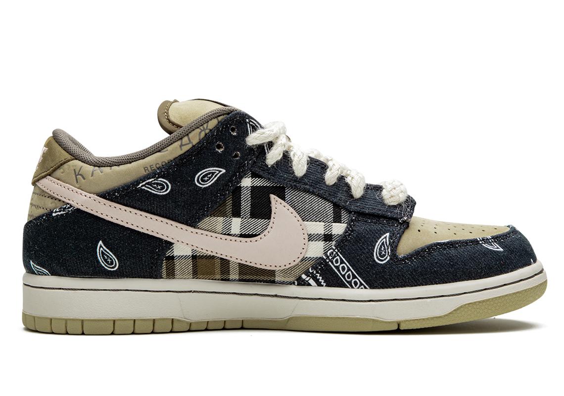 Travis Scott x Nike SB Dunk Low Drops Soon: Best Look Yet
