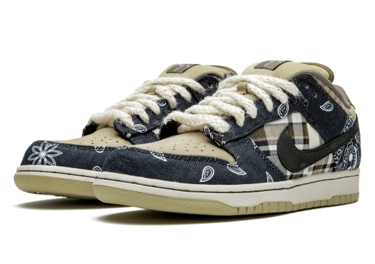 Best Look Yet At Travis Scott's Upcoming Nike SB Dunk Low Collaboration