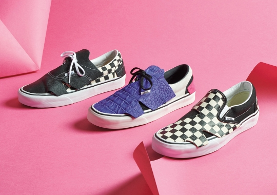 "Vans Offers Abstract Looks With The New ""Origami Pack"""