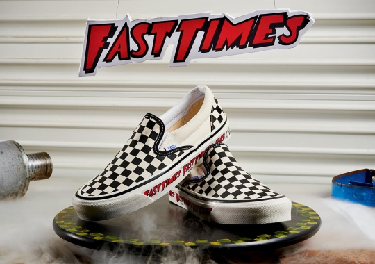"""Vans Recalls Spicoli's Checkerboard Slip-Ons With Limited """"Fast Times"""" Release"""
