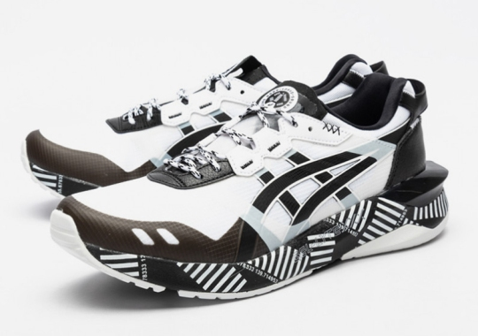 The ASICS GEL-Lyte XXX Features An Exaggerated, Aerodynamic Midsole