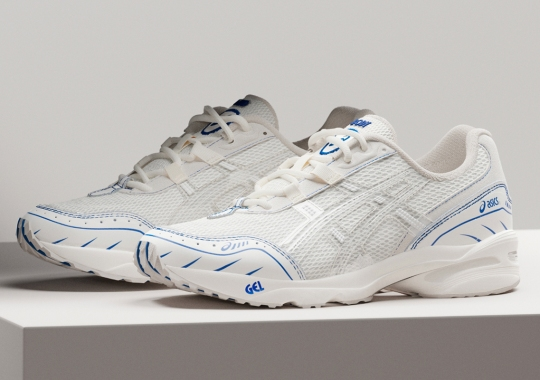 "Retailer Above The Clouds Channels A ""Sound Mind, Sound Body"" With The ASICS GEL-1090"