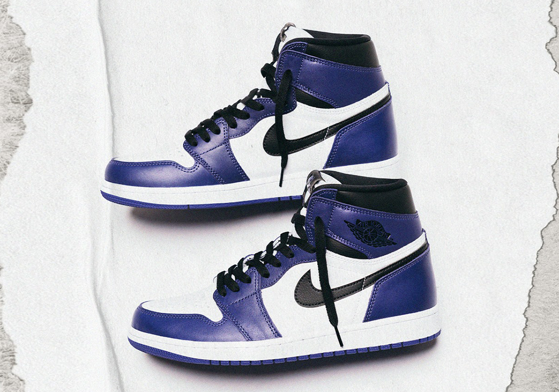 air jordan 1 retro high og court purple release date