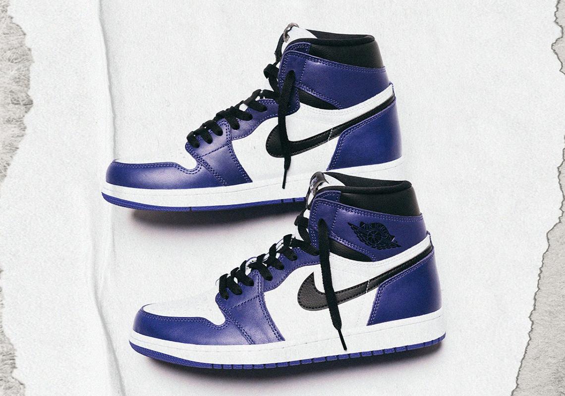Air Jordan 1 Court Purple Us Europe Release Dates Sneakernews Com