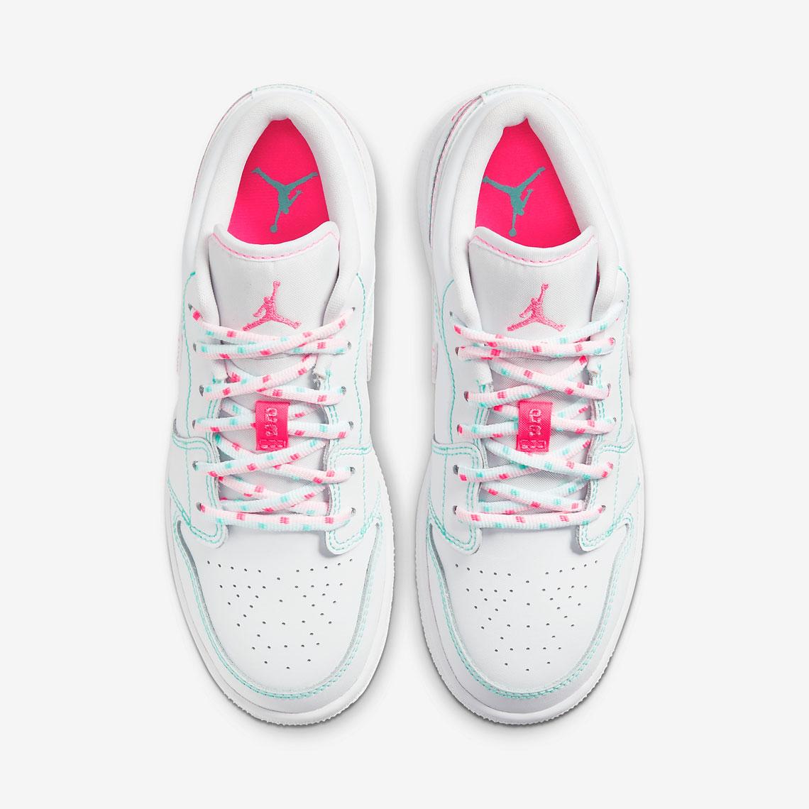 Air Jordan 1 Low GS Aurora Pink 554723