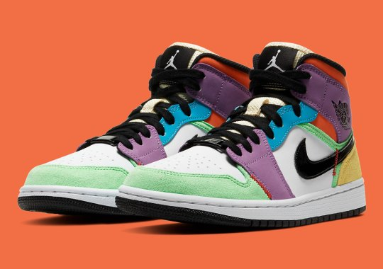 The Air Jordan 1 Mid SE Provides More Multi-Color Later This Spring