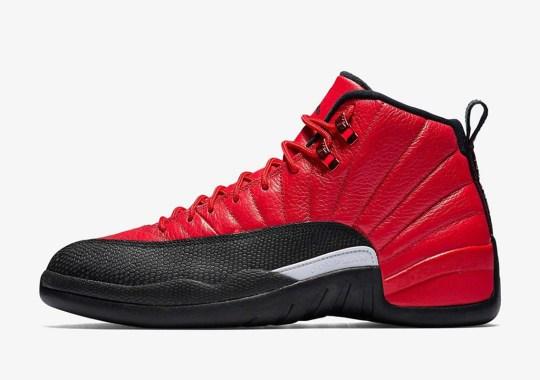"""The Air Jordan 12 Is Releasing In A """"Reverse Flu Game"""" Colorway"""