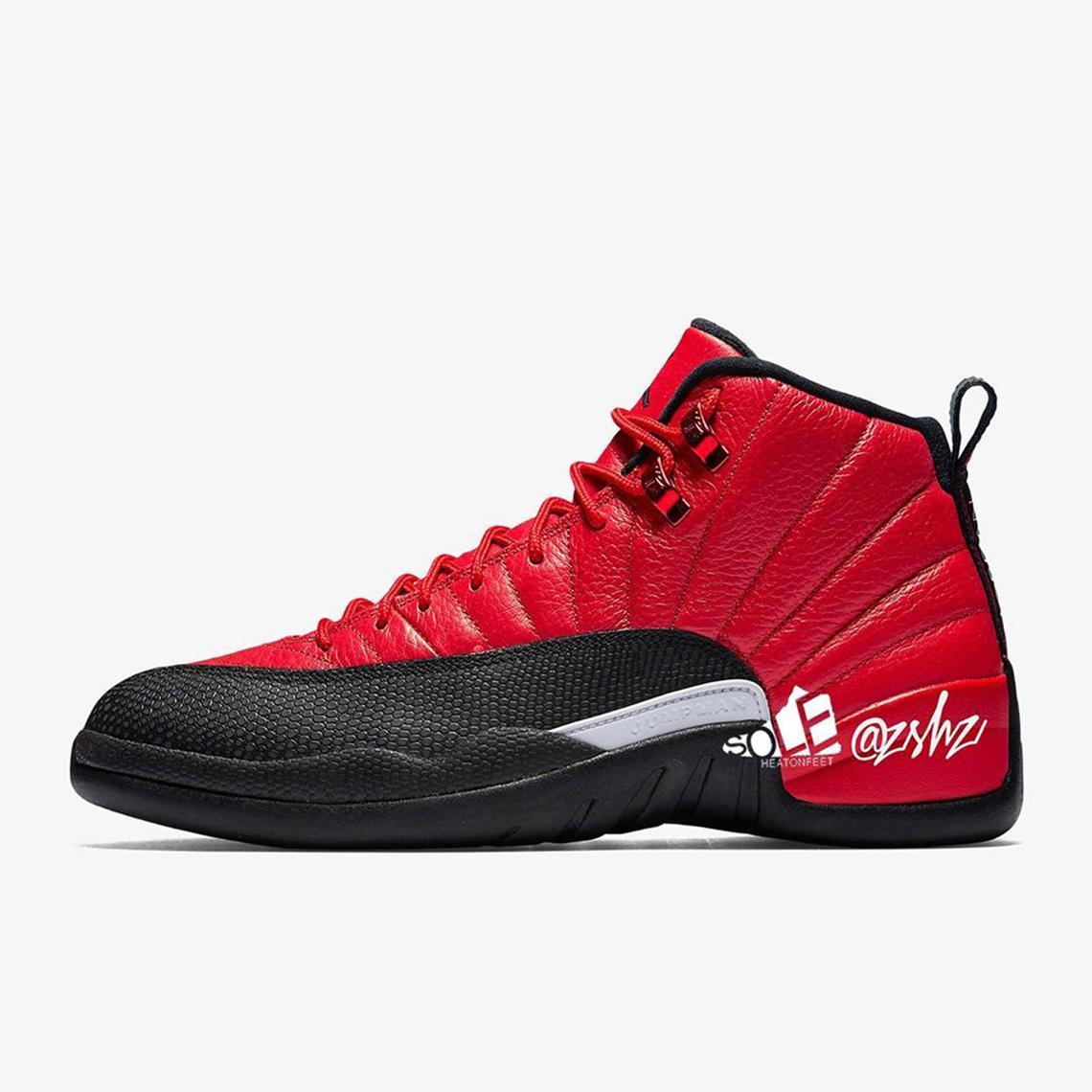 Air Jordan 12 Reverse Flu Game Ct8013 602 Release Date Sneakernews Com