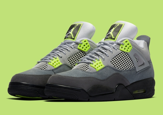 "Where To Buy The Air Jordan 4 Retro SE ""Neon"""