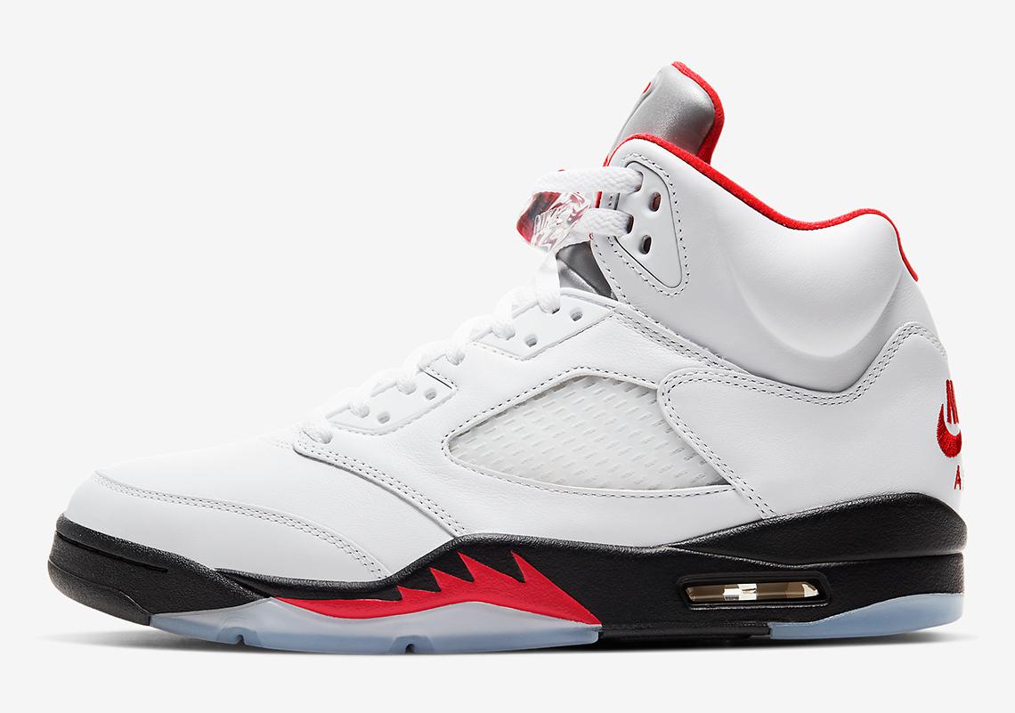 Air Jordan 5 Fire Red Last Dance 2020