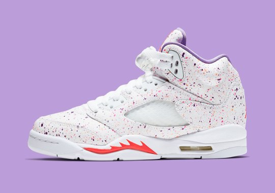 "Where To Buy The Air Jordan 5 ""Splatter"""